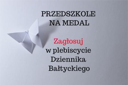 Przedszkole na medal - plebiscyt Dziennika Bałtyckiego