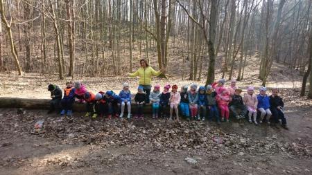 Wycieczka do lasu - grupa 3