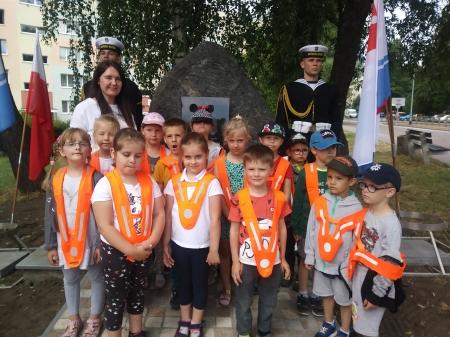 Odsłonięcie pomnika Admirała Floty Józefa Unruga
