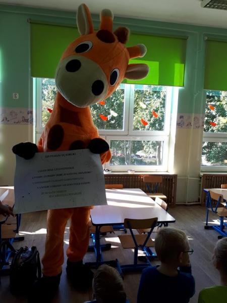 Spotkanie z Żyrafą Olą
