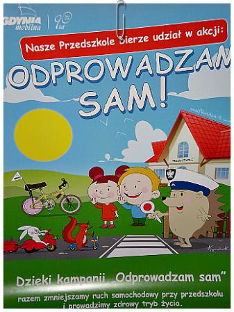 7 edycja kampanii ODPROWADZAM SAM - 01.04.2019