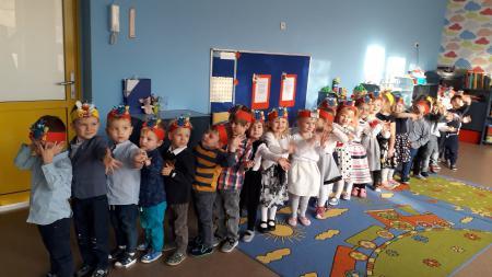 Pasowanie na przedszkolaka w Biedronkach- 06.11.2019