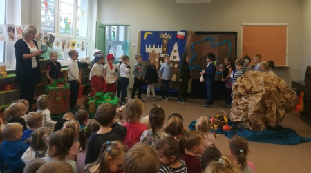 Smok Wawelski w naszym przedszkolu