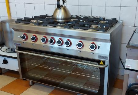 Nowa kuchnia gazowa
